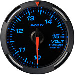 Defi Blue Racer 52mm Volt Gauge